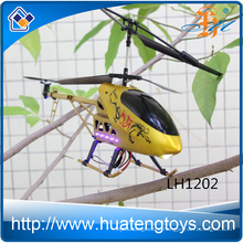 2016 New Gold 3.5CH alloy RC helicopter plane model with gyro