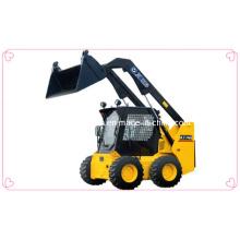 Fabricación competitiva del cargador de dirección deslizante, cargador de cuatro ruedas, XCMG maquinaria móvil de la tierra Xt760