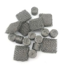 Korrosionsbeständigkeit reines Nickel komprimierte gestrickte Auspuff Schalldämpfer Maschendraht-Dichtung