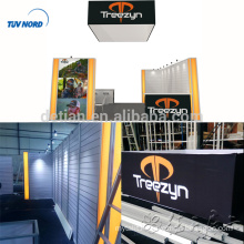 Detian Offer portable display stand aluminum profiles exhibition backdrop