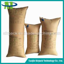 Bolsas de estiba de papel Kraft de aire rápido de llenado rápido para contenedores