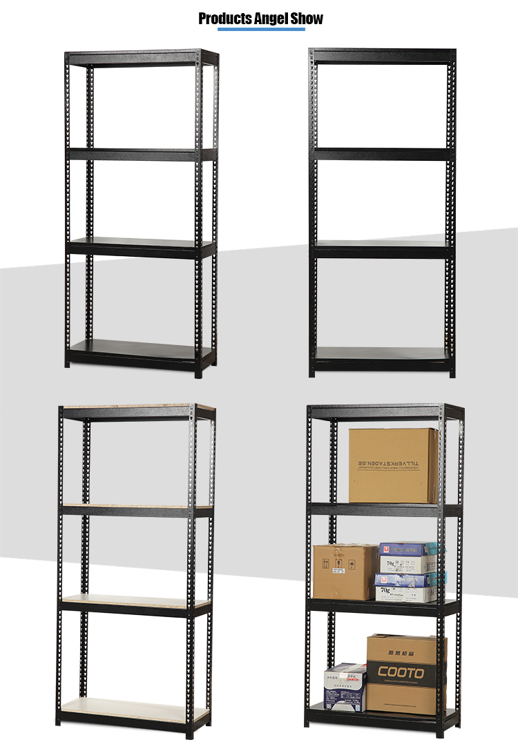 steel light duty boltless shelving