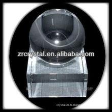 boule de cristal vierge de haute qualité
