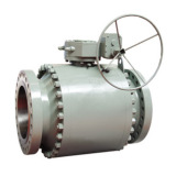 Cast Steel Fixed Control Ball Valve for Water Industrial