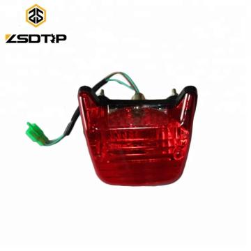 Luz trasera de la motocicleta para el sistema de iluminación de la lámpara LED trasera CT100