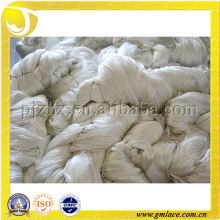 FDY, China Hilo de poliéster blanco 100% 1200D puro para hilo de alfombra