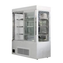porta de vidro premium geladeira armários de exibição de vidro india