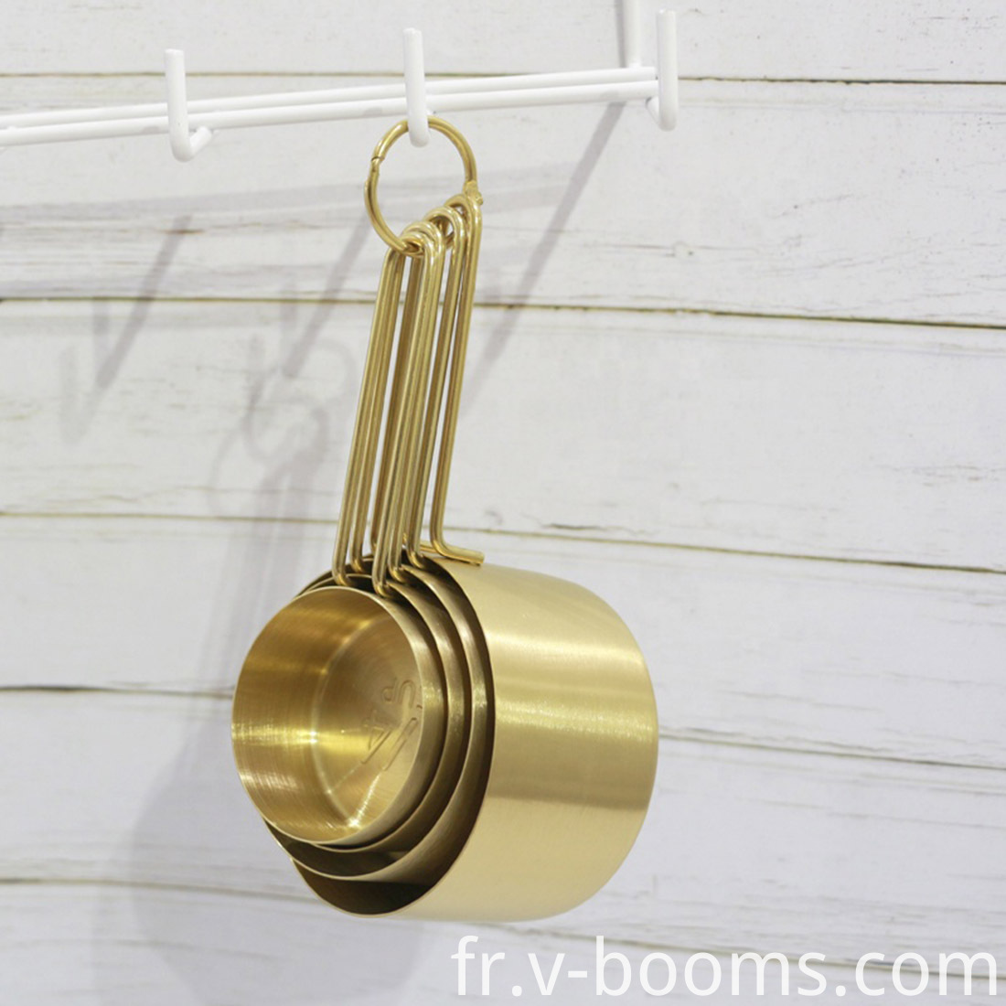 Stainless Steel Copper Measuring Cups