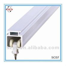 SC07 anti-bruyant rail coulissant coulissant en plastique