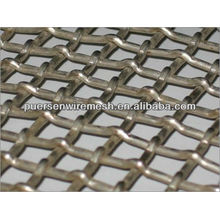 High/Low Carbon Steel Vibrating Screen Square wire mesh Crimped Wire Mesh Manufacturer