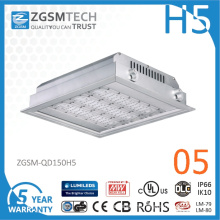 2016 New 150W LED Gas Station Canopy Lights with Super Bright 150lm/W LED