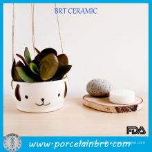 Hanging Flower Pot Cute Animal Planters