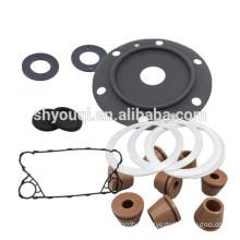 Rubber epdm gasket Sealing Pad ptfe teflon gaskets OEM Compressor Gasket PHE Washer
