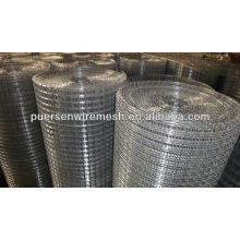hot sale factory 1/4 Electric Galvanized welded wire mesh