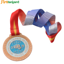 Custom Colorful Medal lanyard