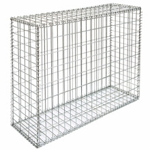 wire cages rock retaining wall price gabion basket  for sale