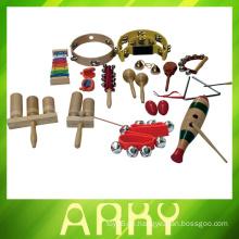 Heißer Verkauf hölzerner Maraca, hölzernes Musikinstrument der Qualitäts, 2014 Neue hölzerne musikalische Spielwaren