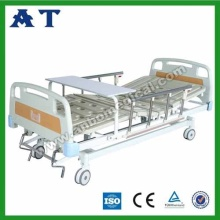 Medical triple-folding bed