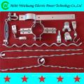 Línea aérea de alta resistencia montaje de hardware de la línea del poste para el cable OPGW ADSS
