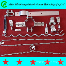 High strength overhead line fitting pole line hardware for ADSS OPGW cable