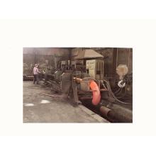 Hot forming mandrel carbon steel elbow machine