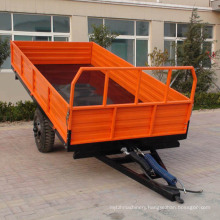 3ton capacity,single axle farm dumpper trailer