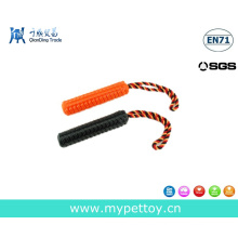 New Pets Roped with TPR Stick Dog Toy