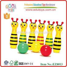 Tier-Bowlingspielzeug - Holzspielzeug Großhandel