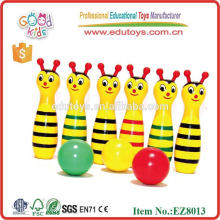 Animal Bowling Toys - Wooden Toys Wholesale