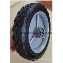 7 Inch Solid PU Foam Wheels for Folding Wagon Carts