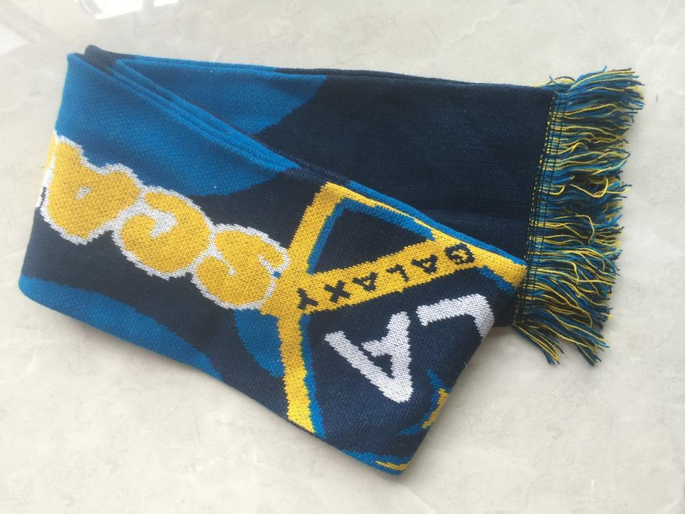 Jacquard Football Team Carnival Knitting Scarf