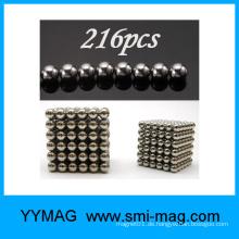 Magnet-Spielzeug Neo-Würfel 5mm Kugel Neodym-Magnet