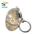 Faça seu próprio logotipo Metal Chaveiro 3D Peças Lucky Letter M Inovador Chaveiro