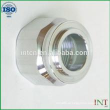 Hecho en China alta calidad personalizada turnning SUS de precisión y piezas de fresado