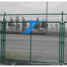 Double clôture de fil de vente chaude / barrière de fil ajoutée