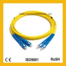 Фабрика Поддержка см кабель 3.0 мм SC-SC оптоволоконный патч-корд-Соединительный