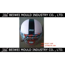 Molde aberto do capacete da motocicleta da cara do plástico novo da injeção do projeto