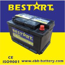 Produce y exporta varios colores plomo ácido de bajo mantenimiento, carga mojada o batería de vehículo seco DIN66mf