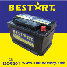 Горячая производим и Ехпортируем различный Цвет свинцово-кислотные малообслуживаемые, мокрый или сухой заряда аккумулятора автомобиля DIN66mf