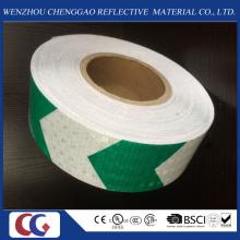 Honig-Kamm-Art PVC-reflektierendes Sicherheitsmarkierungs-Pfeil-Band