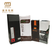 Factory Wholesale Food Grade Customized Aluminum Foil Quad Seal Side Gusset Packaging Bags For Dry Coffee Beans