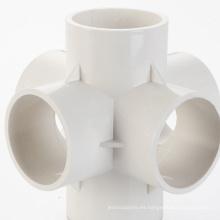 accesorios de tubería de plástico que hacen el molde de accesorios de tubería de pvc