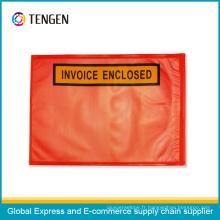 Personnaliser le sac clos de facture en plastique