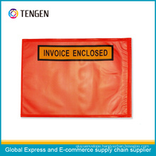 Customize Plastic Invoice Enclosed Bag