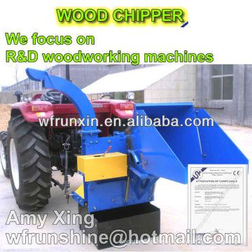 RUNSHINE WC-8 tree wood chipper