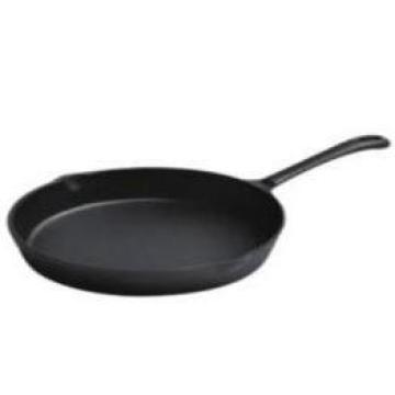 pre-seasoned fry pan 15cm cast iron pan fry black