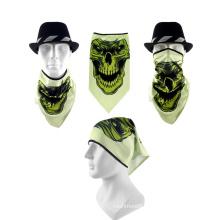 Low Price Promotion Multifunctional Unisex 100%Polyester Triangular Bandana