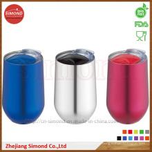 Caneca de vinhos de vácuo de aço inoxidável de forma redonda de 500 ml (SD-8022)