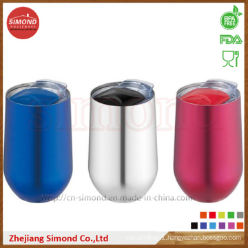 500ml Round Shape Stainless Steel Vacuum Wine Mug (SD-8022)