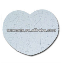 Hot Selling DIY Gift From China Supplier Blank White Sublimation Printable Puzzle Jigsaw